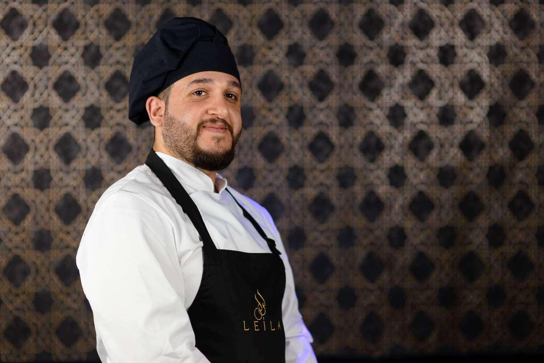 Ahmed Szef Kuchni Restaurcji Leila, restauracja arabska w Warszawie
