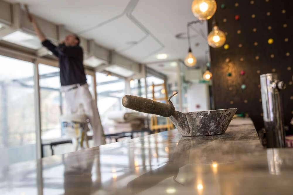 Restauracja Leila Warszawa Centrum, mezze restauracja remont 1