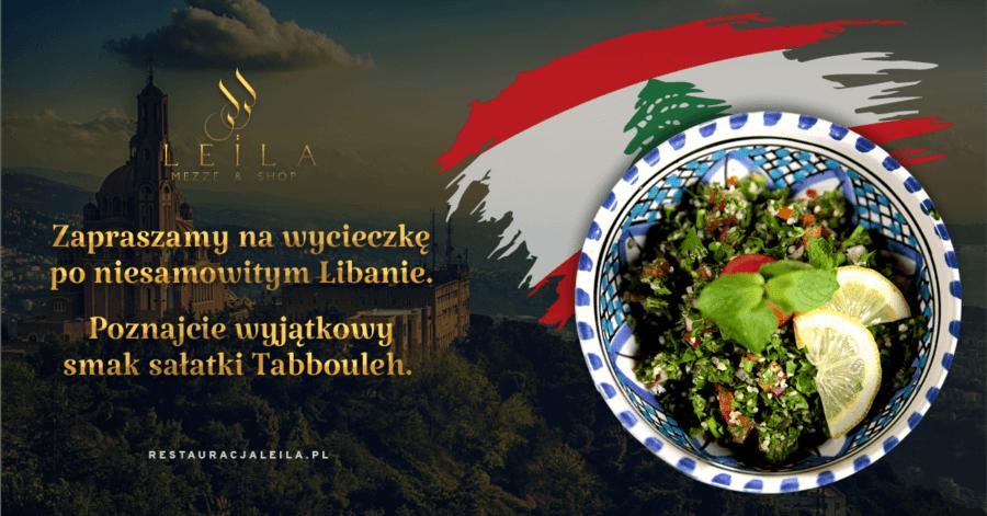 Zabieramy Was w podróż po Libanie ze smakiem sałatki Tabbouleh